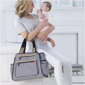 EUC skip hop baby diaper bag